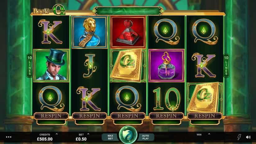 Book of Oz slot by Triple Edge Studios