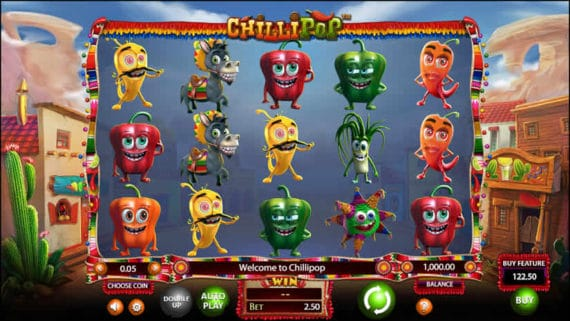 Chilli Pop Slot by Betsoft