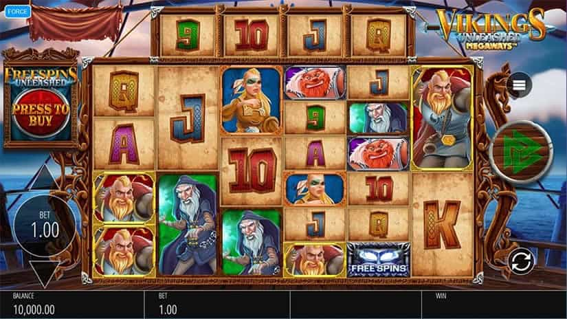 Vikings Unleashed Slot by Blueprint Gaming
