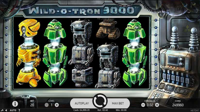 Wild-O-Tron 3000 Slot by NetEnt