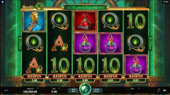 Book of Oz Slot by Microgaming