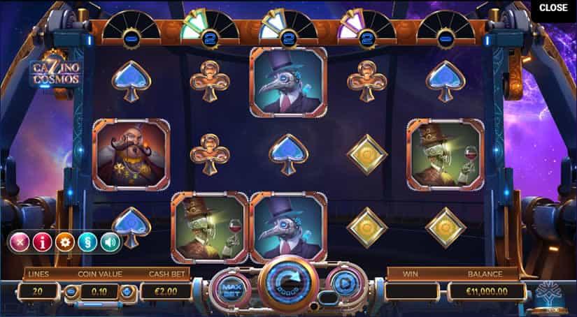 Cazino Cosmos slot by Yggdrasil