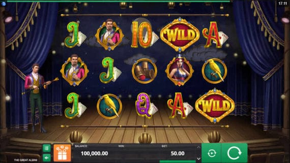 The Great Albini Slot by Microgaming