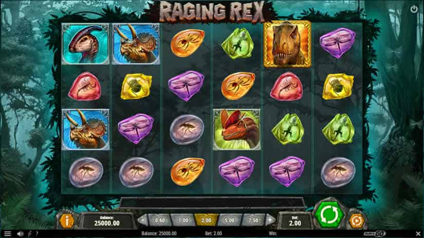 Raging Rex Slot by Play'n Go