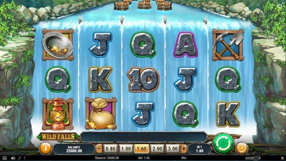 Wild Falls slot by Play'n Go