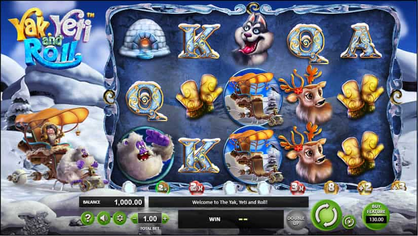 Yak, Yeti And Roll Slot by betsoft