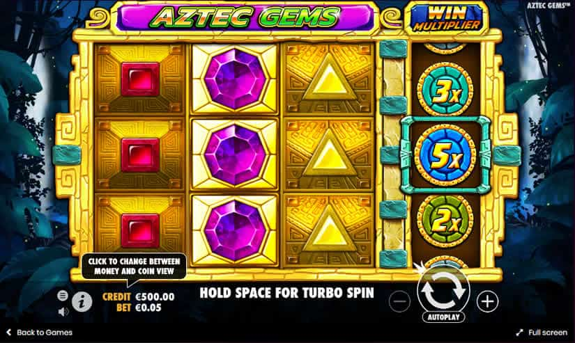 Aztec Gems Slot by Pragmatic Play