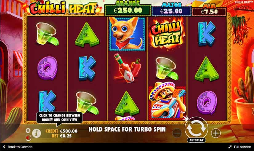 Chilli Heat slot by Pragmatic Play