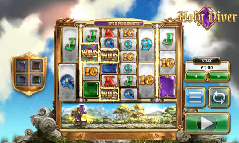 Holy Diver Slot by Big Time Gaming (BTG)
