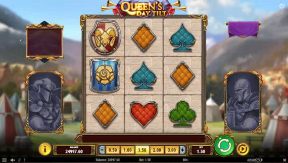 Queens Day Tilt slot by Play'N Go