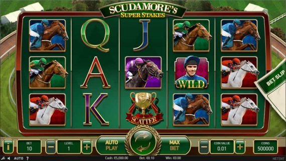 Scudamore's Super Stakes Slot by NetEnt