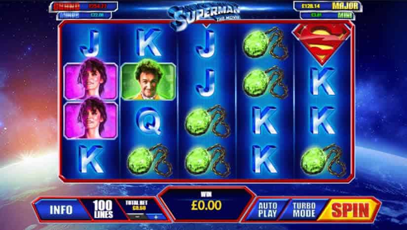 Superman: The Movie Slot by Playtech