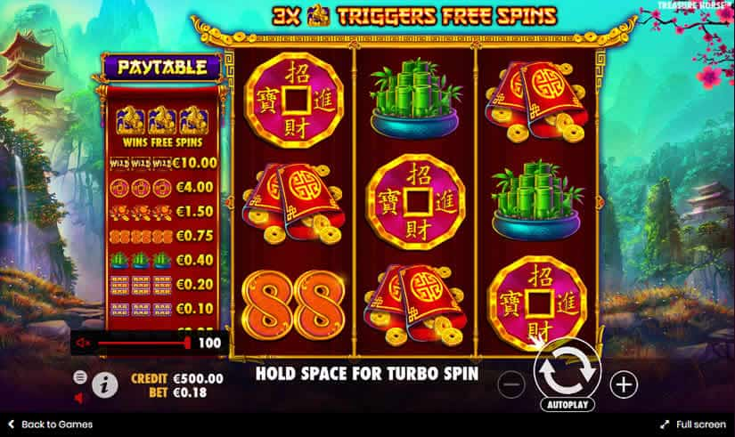 Treasure Horse slot by Pragmatic Play