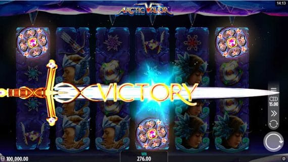 Arctic Valor slot by Crazy Tooth Studio and released through Microgaming