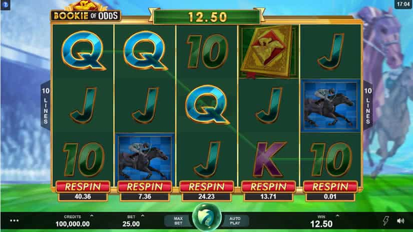 Bookie of Odds slot by Triple Edge Studios + Microgaming