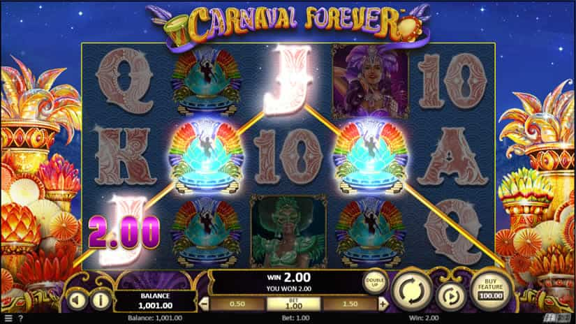 Carnaval Forever Slot by Betsoft