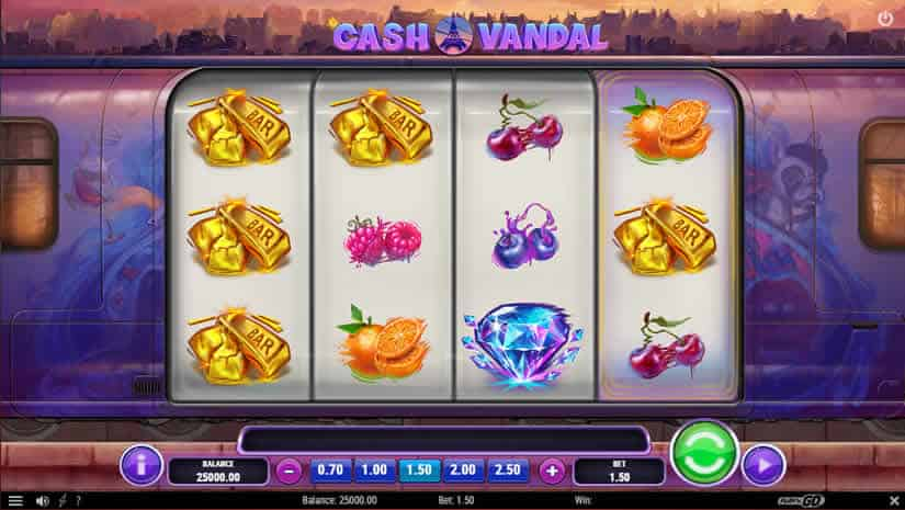 Cash Vandal slot by Play'N Go