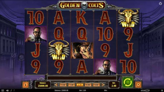 Golden Colts slot by Play'n Go
