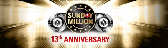 Pokerstars Sunday Million 13th Anniversary Results