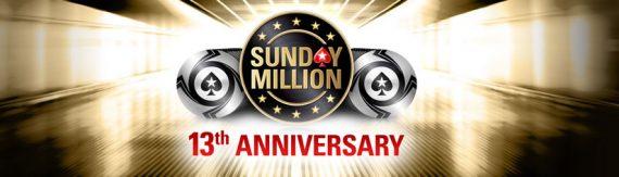 Pokerstars Sunday Million 13th Anniversary Results