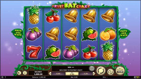 Fruit Bat Crazy Slot by Betsoft