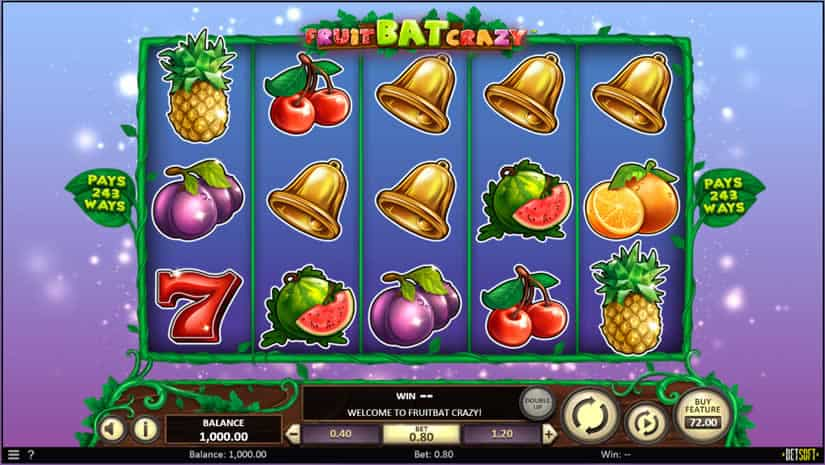 Fruit Bat Crazy Slot by Betsoft