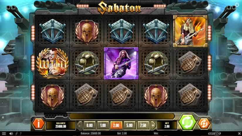 Sabaton Slot by Play'N Go