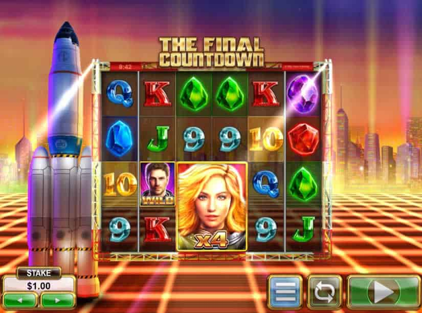 The Final Countdown slot game by Big Time Gaming