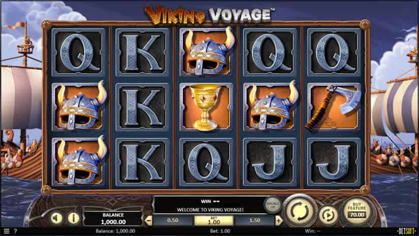 Viking Voyage Slot by Betsoft