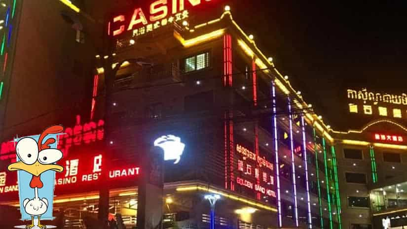 Cambodian Casino accused of physically beating chinese gamblers