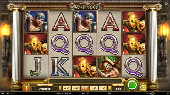 Game of Gladiators slot by Play'N Go