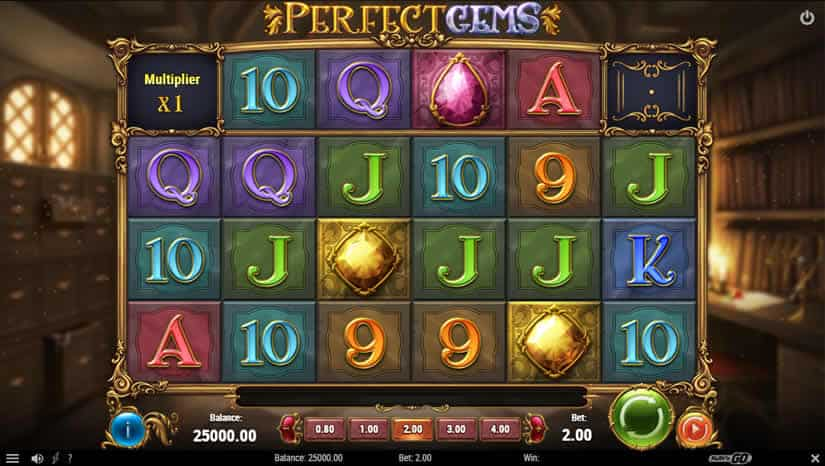 Perfect Gems slot by Play'n Go