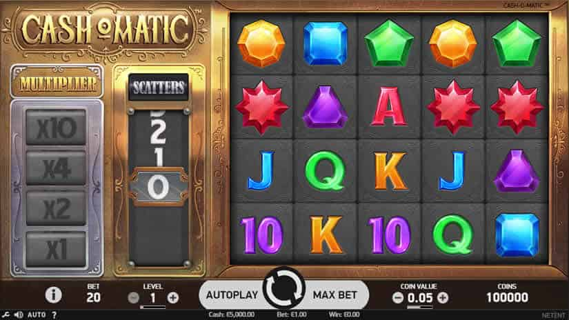 Best Slots to Play in July 2019: Cashomatic by Netent