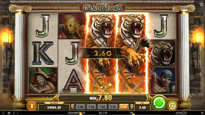 Game of Gladiators slot Features