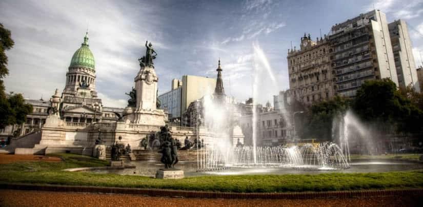 Plaza Congreso, Buenos Aires Argentina