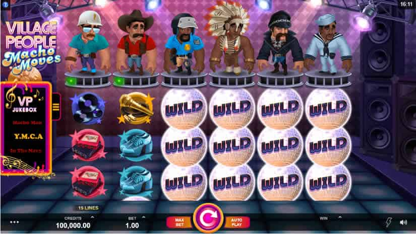 Best slots to play in July 2019: Village People Macho Moves by Microgaming