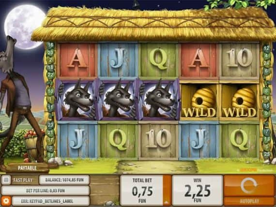 Virtual Reality Slots Big Bad Wolf Slot by Quickspin