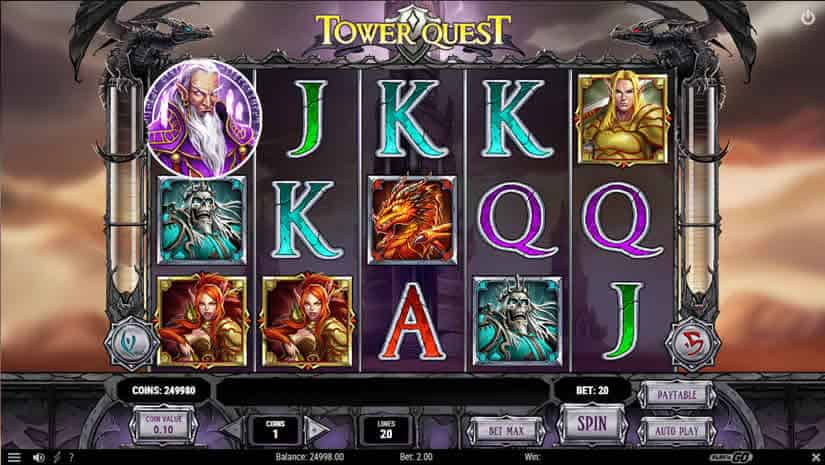 Virtual Reality Slots Tower Quest Slot by Play'N Go