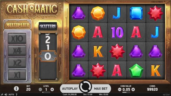 Cash-o-Matic Slot Preview