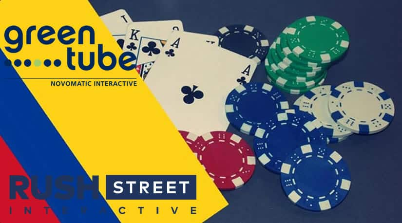 Rush Street partners with Greentube in Colombia for Gambling Purposes
