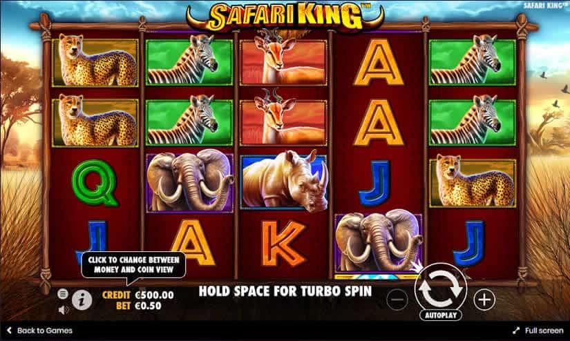 Safari King Slot by Pragmatic Play