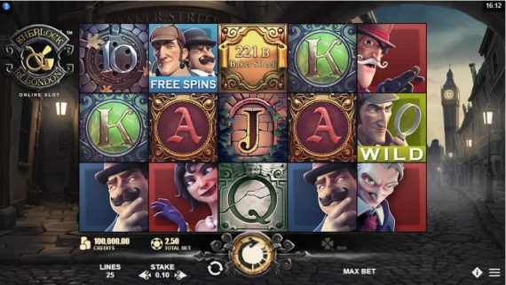 Sherlock of London Slot by Microgaming