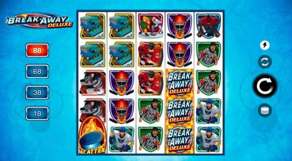 Breakaway Deluxe Slot by Microgaming