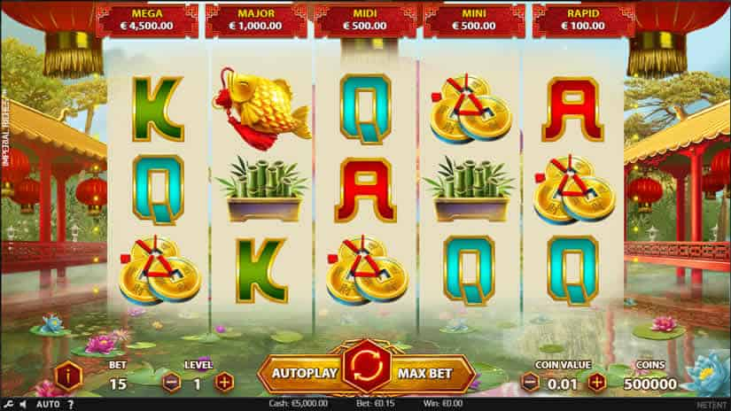 Imperial Riches slot by Netent - Best slot machines to play in september 2019