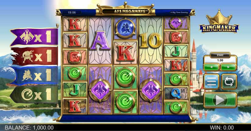 King Maker slot by Big Time Gaming - Best slot machines to play in september 19