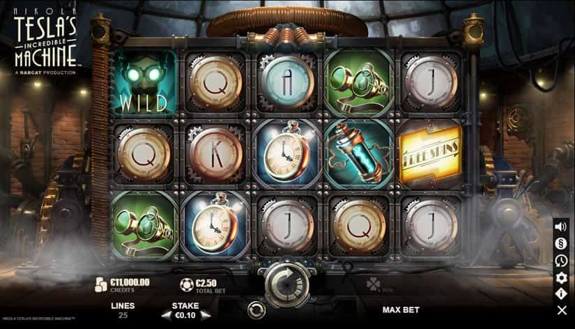 Nikola Tesla's Incredible Machine slot by Yggdrasil - Best Slots To Play In September 2019