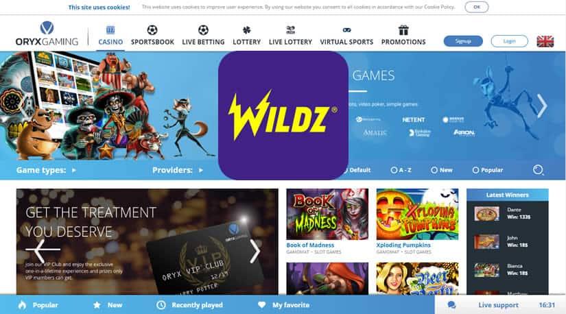 Oryx - Wildz partnership