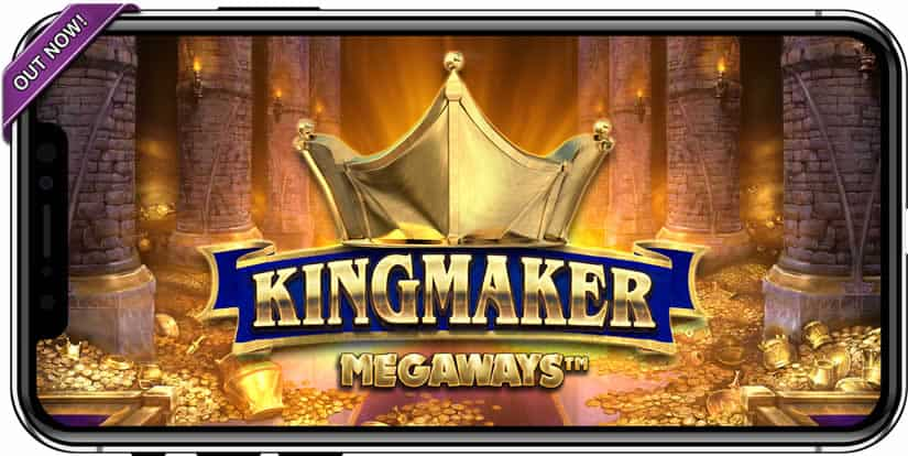 Play the Kingmaker slot in your mobile device!