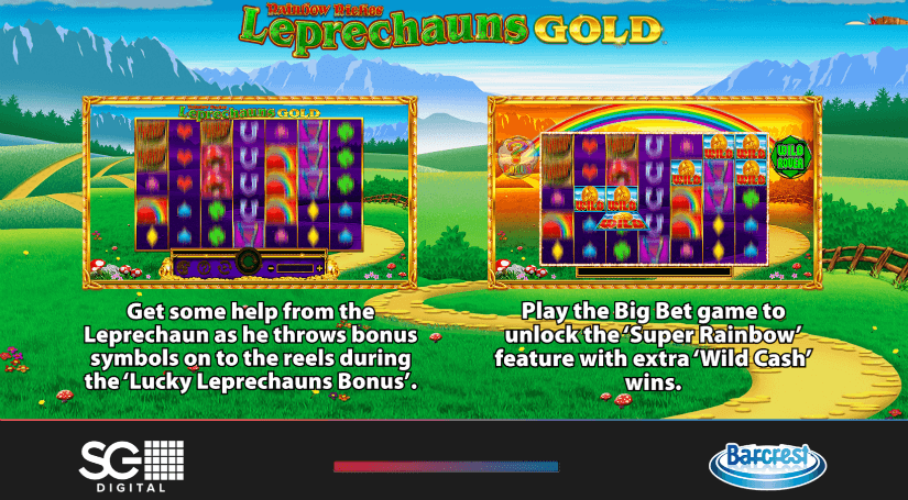 Leprechauns Gold Features