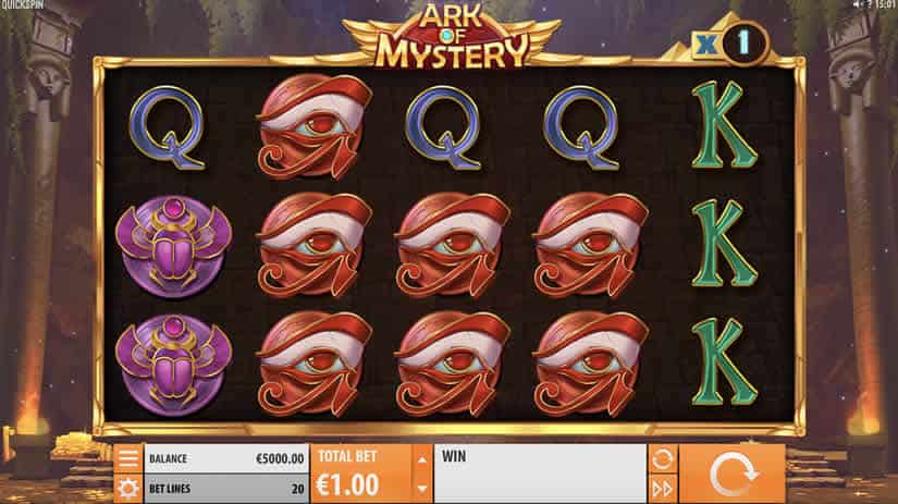 Ark of Mystery slot by Quickspin: Best Egypt themed online slots